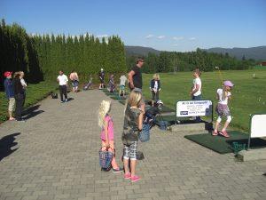 trening barn og juniorer